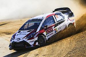 WRC Prova speciale Portogallo, PS3: Toyota e Latvala nuovi leader. Lefebvre capotta