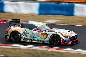 スーパーGT 速報ニュース 【スーパーGT】岡山決勝GT300:大波乱の開幕戦、4号車初音ミク完勝
