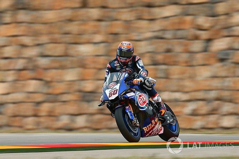 Van der Mark to replace Rossi at Aragon