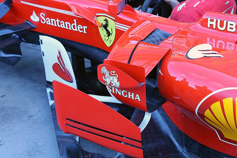 Technique - Les pontons aux formes complexes de la Ferrari