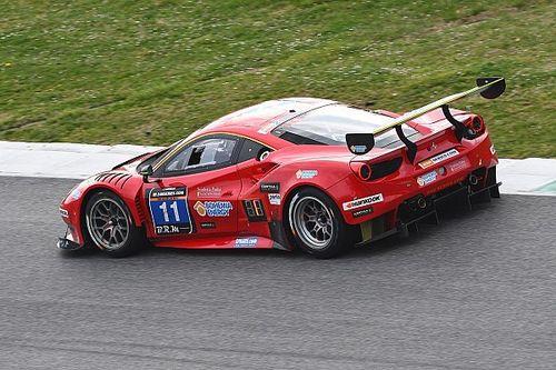 Scuderia Praha Ferrari on pole for the 24H Circuit Paul Ricard