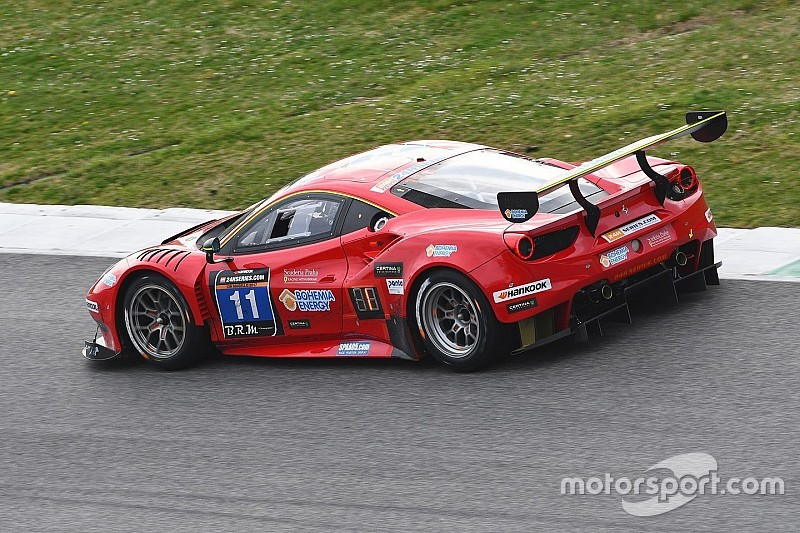 Scuderia Praha Ferrari on pole for the 24H Circuit Paul Ricard