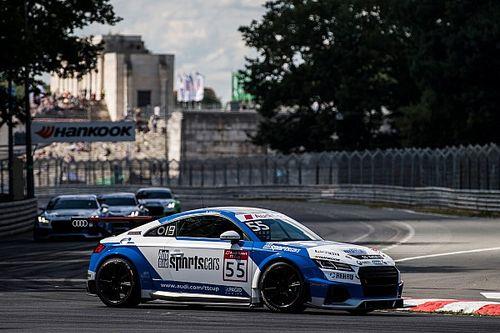 Audi TT Cup: Vettel eldobta a dobogót, Keszthelyi pontszerző