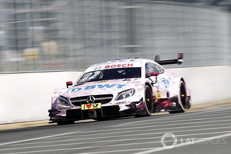 Auer e la Mercedes in spolvero nelle Libere 2 al Norisring