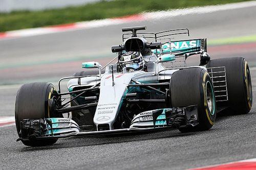 F1-Test Barcelona: Mercedes mit neuem Rundenrekord 2017
