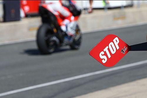 Rossi, Lorenzo, Dovizioso en anderen verdeeld over pitstopvariant