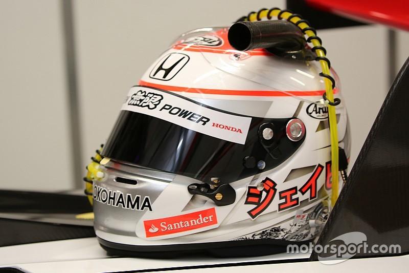 GALERI: Helm baru Button untuk Suzuka 1000 km