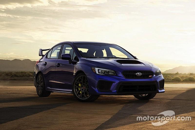 Photos - L'évolution de la Subaru WRX STI à Détroit