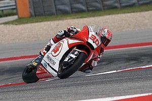 【Moto2】中上貴晶「3位は素直に嬉しい」狙うはモルビデリの連勝阻止