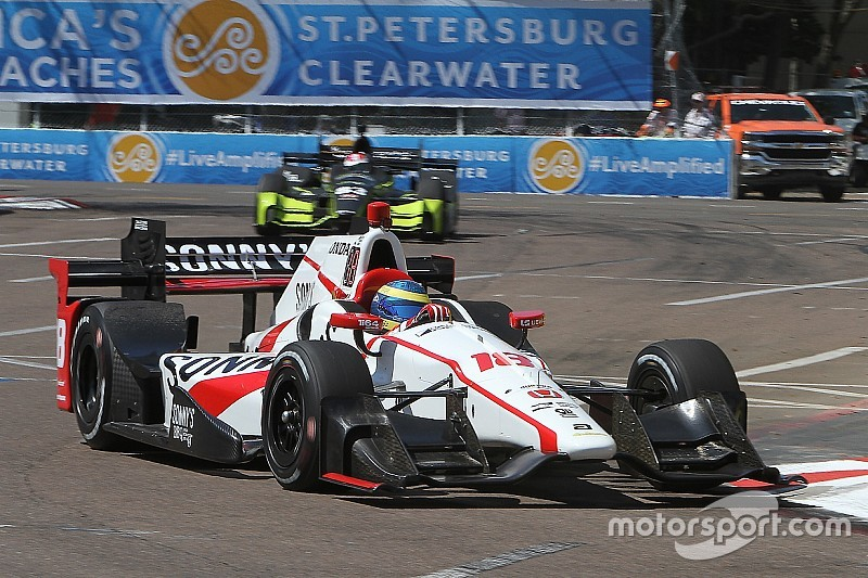 St Pete IndyCar: Bourdais wins season opener from back of the grid