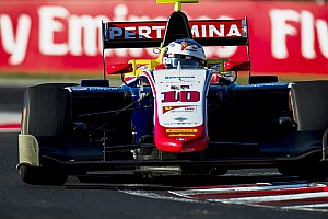 GP3 Gara Gara 2: Alesi concede il bis e guida il poker Trident all'Hungaroring!