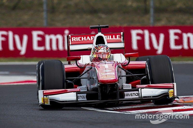 F2 Hungaroring: Leclerc pakt zevende pole op rij