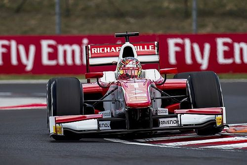 Hungary F2: Leclerc breaks record for consecutive poles