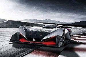 Peugeot luncurkan sportscar virtual L750 R HYbrid Vision GT