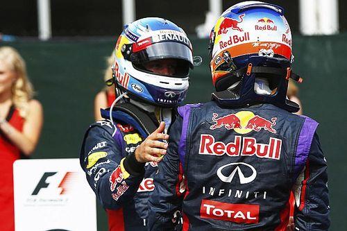 F1: Ricciardo exalta Vettel e diz que foi melhor companheiro de equipe