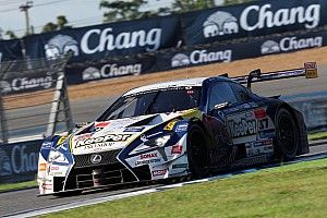 Hari bahagia Lexus di Super GT Buriram