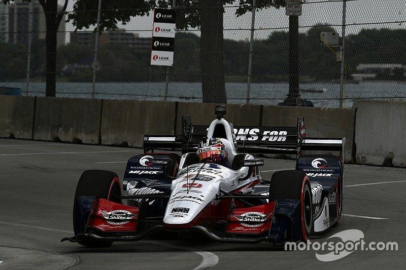 Rahal passeia em primeira prova de Detroit; Castroneves é 7º