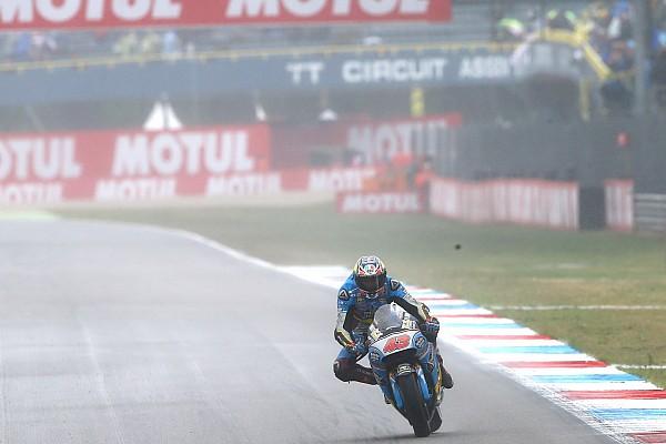 MotoGP Отчет о тренировке Миллер стал быстрейшим в дождевой разминке в Ассене