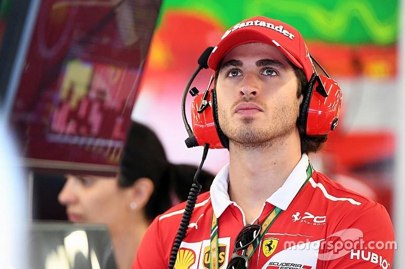 Masa depan Giovinazzi di F1 tergantung Ferrari
