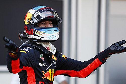Formel 1 in Baku: Daniel Ricciardo gewinnt Chaosrennen vor Bottas