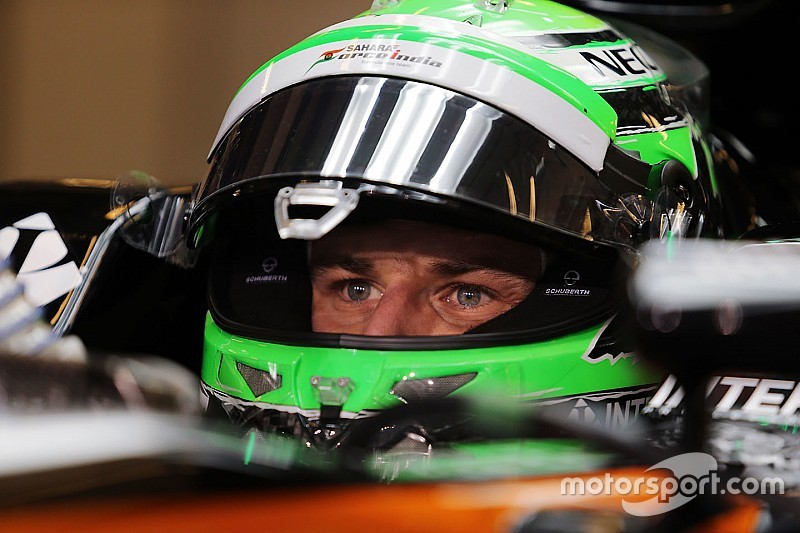 """Hulkenberg's bad F1 luck now a """"laughing matter"""""""