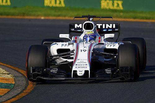 """Massa celebra top 6 na Austrália: """"nada mau para um velho"""""""
