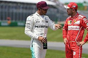 Hamilton no se confía y espera una dura batalla con Ferrari