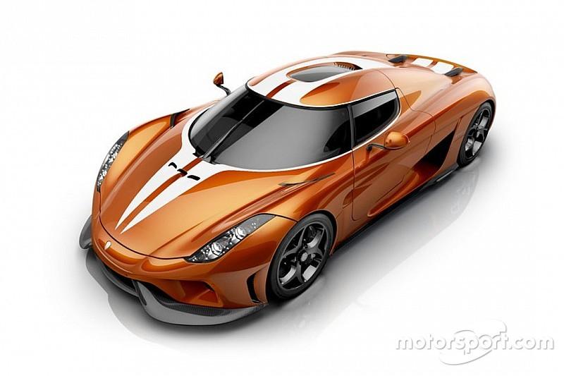 Koenigsegg dévoile une Regera Sweet Mandarine