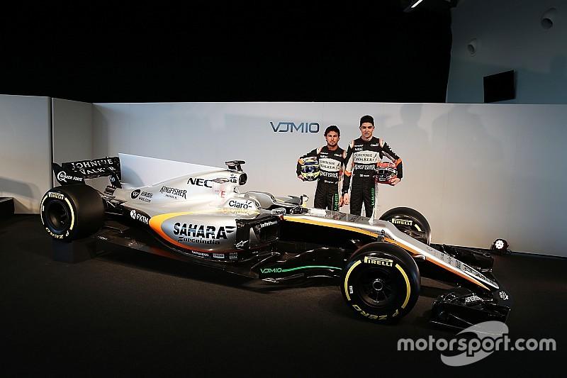 Force India luncurkan mobil penantang F1 2017
