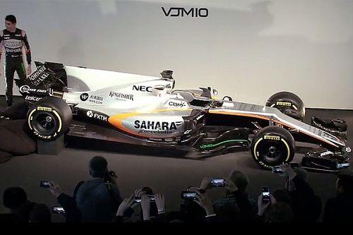 Force India: presentata a Silverstone la VJM10 di Perez e Ocon