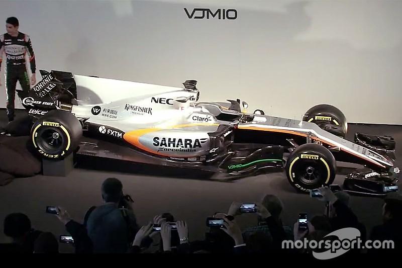 Force India презентувала новий болід Ф1 для 2017 року
