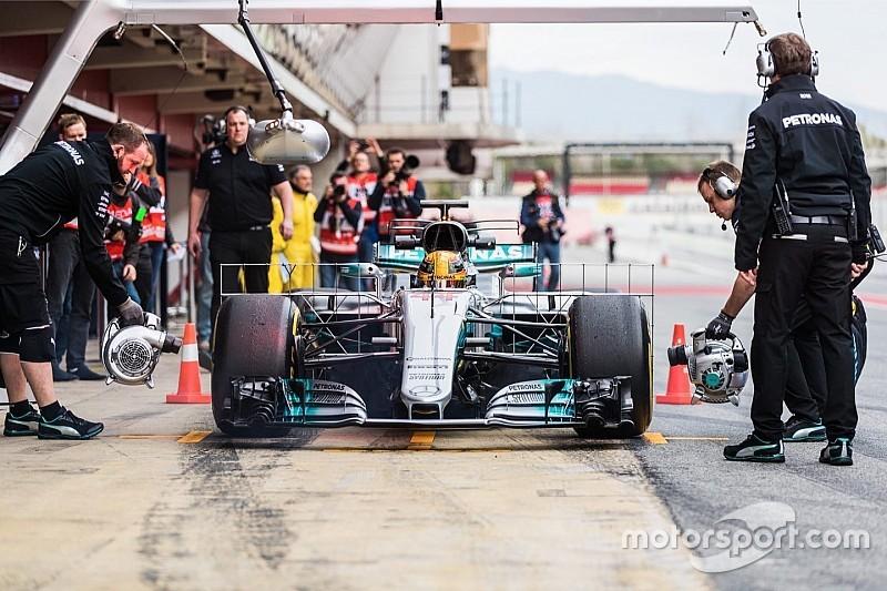 Mercedes planea un gran desarrollo para esta semana