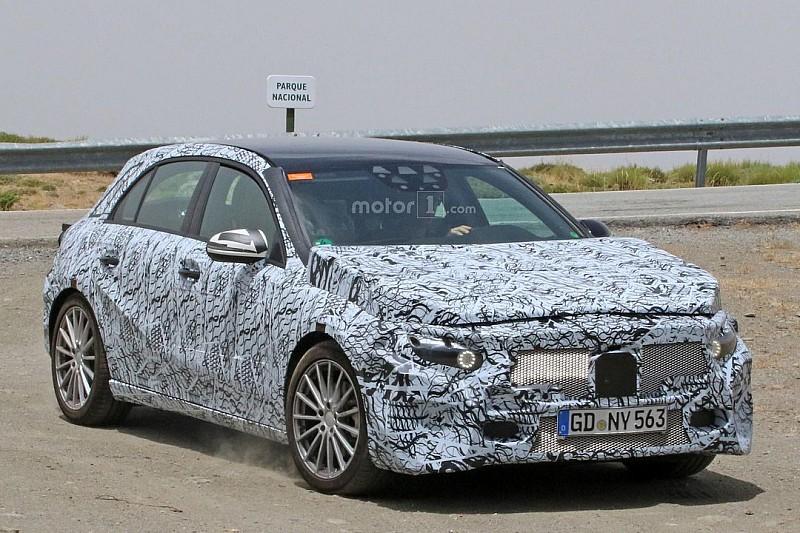 Le développement de la Mercedes Classe A se poursuit