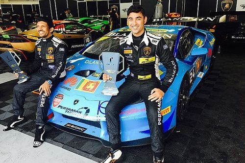 Ebrahim admits lack of pace hurt win chances despite Super Trofeo class title