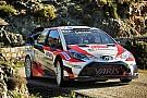 WRC Toyota tendrá un tercer auto a partir de Portugal