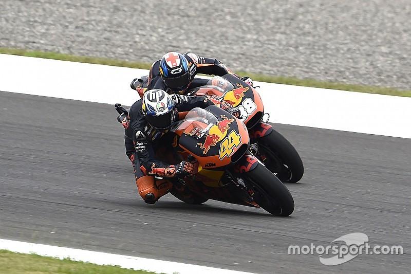 Tembus start 10 besar, duo KTM bergembira