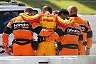 IndyCar Hunter-Reay transferred to hospital after 200mph shunt