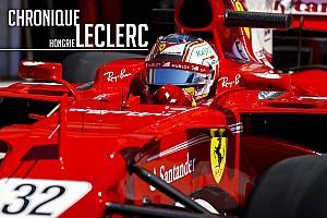 FIA F2 Chronique Chronique Leclerc - D'une disqualification à un test de rêve en F1