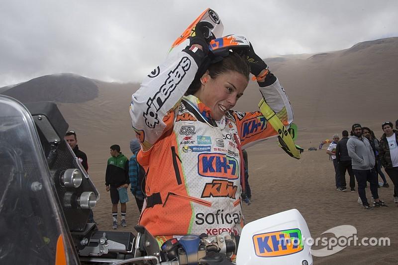 Laia Sanz, un mes de preparar el Dakar y jugarse el Mundial de Enduro