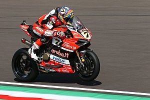 World Superbike Qualifying report WorldSBK Italia: Davies pole di hadapan fans Ducati