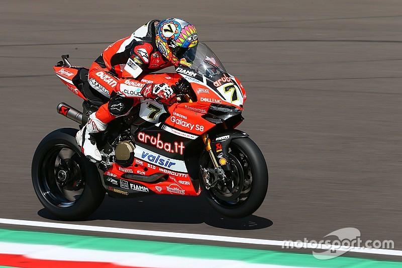 WorldSBK Italia: Davies pole di hadapan fans Ducati