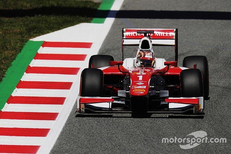 Leclerc é pole em Barcelona, Sette Câmara larga em 14º