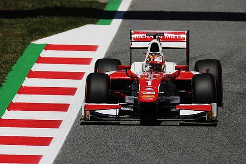 F2 Barcelona: Leclerc kembali raih pole, Gelael start ke-17