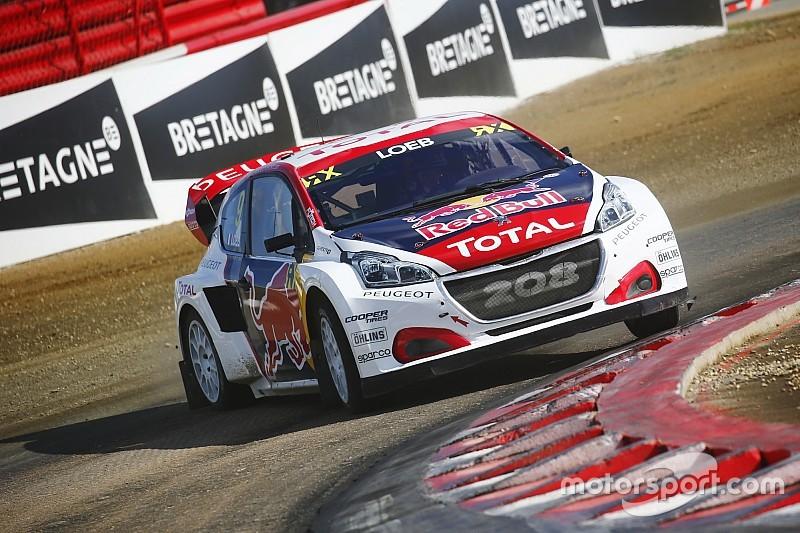 Kristoffersson gagne en finale, Loeb deuxième à domicile