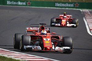 """Vettel: """"Es una buena señal que los rivales copien a Ferrari"""""""