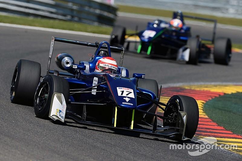 Devlin DeFrancesco scores double podium at Spa-Francorchamps