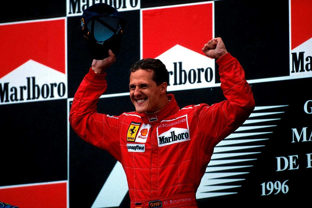 Egy újabb klasszikus az M4 Sporton vasárnap: Schumacher első győzelme a Ferrarival