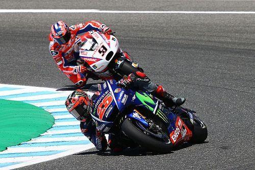 Test Jerez, Ore 15: pochi miglioramenti, Vinales rimane in vetta