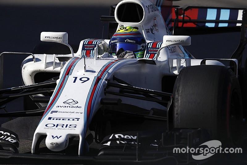 "Massa: Pengembangan Williams pada 2017 ""jauh lebih baik"""