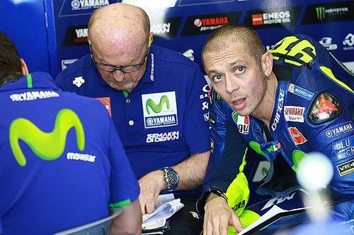"""Rossi: """"Het gehele weekend had ik geen gevoel met de motor en banden"""""""